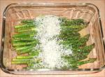 American Balsamic Roasted Asparagus With Fleur De Sel and Parmesan BBQ Grill