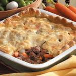 American Vegetable Beef Potpie Appetizer