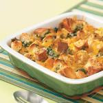 American Southwest Spinach Strata Appetizer