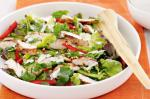 British Chicken And Herb Salad With Creamy Lime Dressing Recipe Appetizer