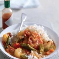 Canadian Shrimp Gumbo Dinner