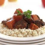 Moroccan Moroccan Lamb Stew with Sweet Potatoes Dessert