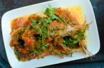 Indian King Prawn and Tomato Curry Appetizer