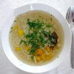 Thai Vegetable Soup with Rice 1 Appetizer