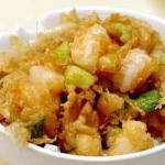 Thai Sauteed Easy Chicken with Celery Appetizer