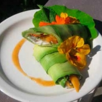 Canadian Paradise Roll Appetizer