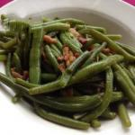 Canadian Fisolen with Bacon green Beans with Bacon Appetizer