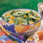 Canadian Romaine with Oranges and Almonds Appetizer