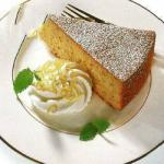 American Almond Cake with Potatoes Dinner