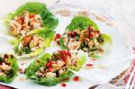 American Prawn And Chicken Lettuce Cups With Sweet Chilli Dressing Recipe Appetizer
