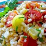 Canadian Pasta with Fresh Tomatoes and Corn Recipe Appetizer