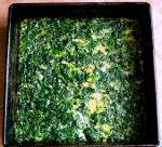 American No Carb Spinach Bread Appetizer