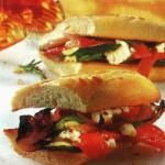 Canadian Baguette with Grilled Vegetables Dessert