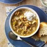 American Spicy White Chili Appetizer