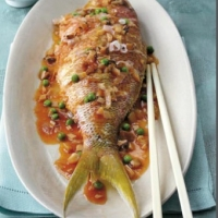 Chinese Sweet and Sour Deep-fried Fish Appetizer