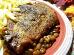 American Easy Oven Baked Beans and Pork Chops Dinner