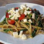 Pasta with Beef and Veal Strips recipe