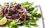 Vietnamese Vietnamese Shaking Beef with Filet Mignon Recipe Appetizer