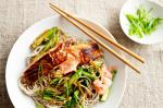 American Teriyaki Salmon With Soba Noodles And Asparagus Recipe Appetizer