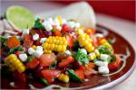 American Soft Tacos With Chicken and Tomatocorn Salsa Recipe Appetizer