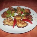 American Chicken in Spicy Dough Appetizer