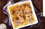 British Microwave Bread And Butter Pudding Recipe BBQ Grill