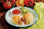 Italian Sausage Pepper Calzones Dinner