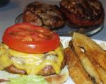 American Bacon Wrapped Cheeseburgers Dinner