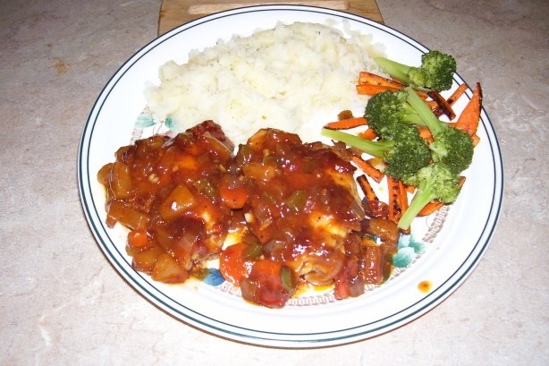 American Sweet and Sour Baked Chicken 2 Dinner