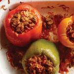 Canadian Slow Cooker Stuffed Peppers Appetizer