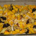 Buttercup Squash and Eggplant Tureen recipe