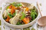 American Green Lentils With Roasted Pumpkin And Fennel Recipe Appetizer