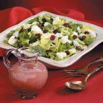 Canadian Tossed Cranberry Salad Appetizer