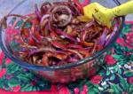 American Sweet and Sour Red Onion Condiment Appetizer