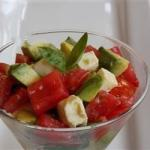 British Insalata Caprese with Avocado Recipe Appetizer