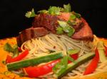 Vietnamese Vietnamesestyle Grilled Steak With Noodles Appetizer