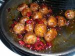 American Cranberry Glazed Meatballs 1 Dinner