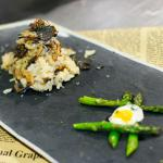 American Forest Mushroom and Shaved Truffle Risotto  Chef Recipe by Shawn Sheather Appetizer