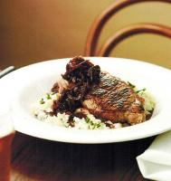American Porterhouse Steaks with Blue Cheese Mashed Potatoes Dinner