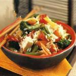 American Fried Rice with Tofu and Vegetables 2 Appetizer