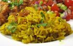American Carrot and Coriander Pilaf Appetizer
