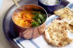 Indian Prawn And Chickpea Curry With Currysalt Naan Recipe recipe