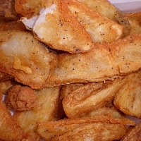 American Potato Wedges Appetizer