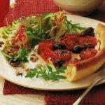 Canadian Pizza Pie with Cherry Tomatoes Appetizer
