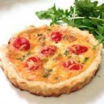 British Mini Quiches to Cherry Tomatoes and Basil Dessert
