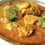 British Thighs of Chicken Curry Appetizer