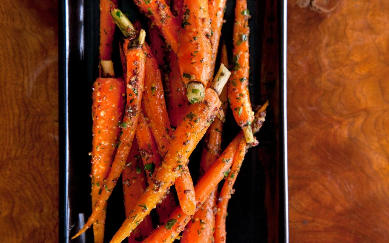British Roasted Baby Carrots Recipe 2 Appetizer