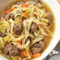 Dutch Dutch Meatball Soup