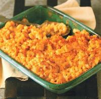 Canadian Baked Macaroni with Four Cheeses Dinner