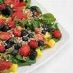 American Mango Berry Fruit Salad Recipe Appetizer